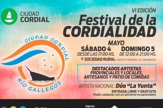 Río Gallegos disfrutará del Festival de la Cordialidad