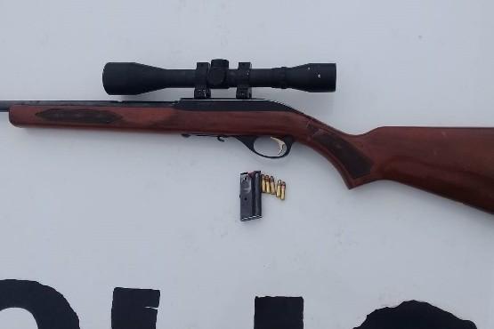 Personal de Operaciones Rurales secuestra un arma de fuego