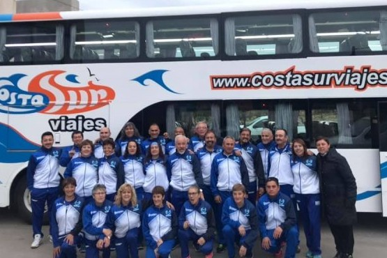 La selección santacruceña de  Newcom juega en Mar del Plata