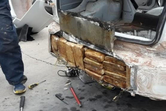 Traían 42 kilos de droga al Valle desde Paraguay y ahora van a juicio