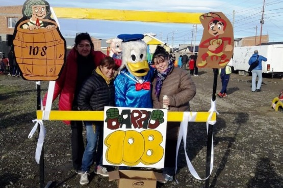 Nuevo parque infantil para el barrio 108 Viviendas