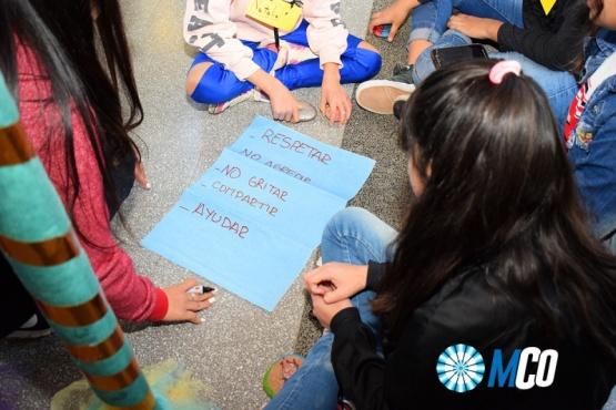 Jóvenes y niños participaron de las Jornadas de Talleres