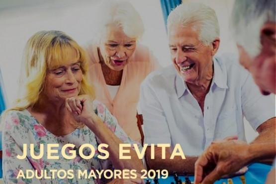 Inscripciones para los Juegos Evita de Adultos Mayores