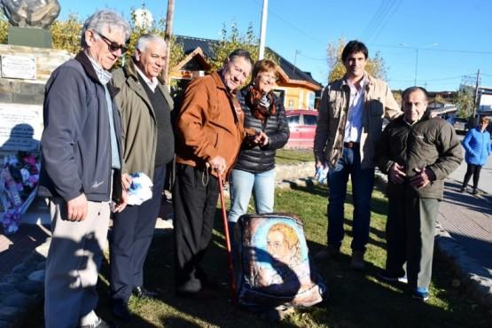 Partido Justicialista de 28 de Noviembre realizó un homenaje a Evita