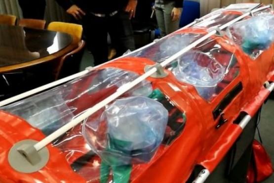 Entregaron camillas de bioseguridad para pacientes con Hantavirus
