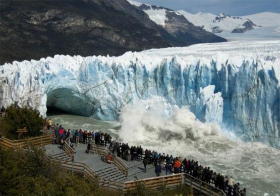 El Glaciar Perito Moreno es la segunda maravilla de Argentina