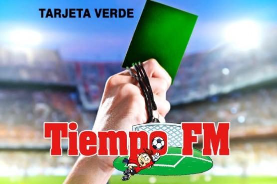 La tarjeta verde debutará en el torneo de Tiempo FM