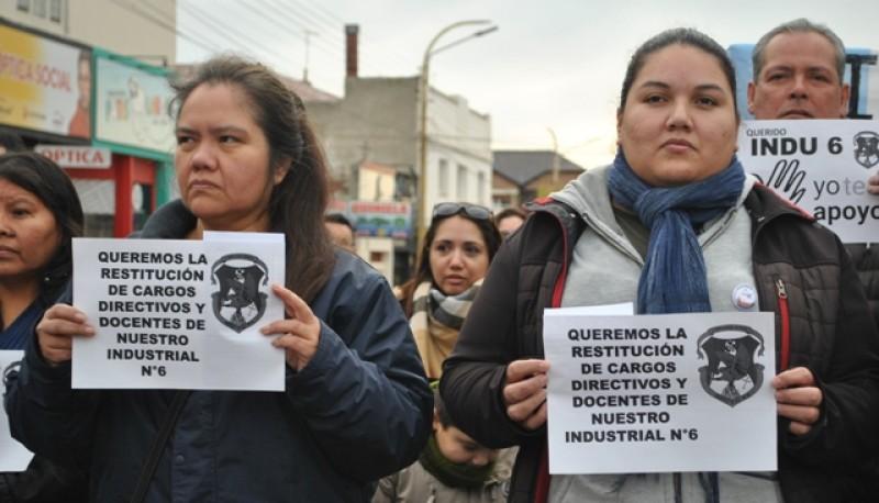 El último domingo se hicieron presentes en el izamiento dominical (Foto archivo)