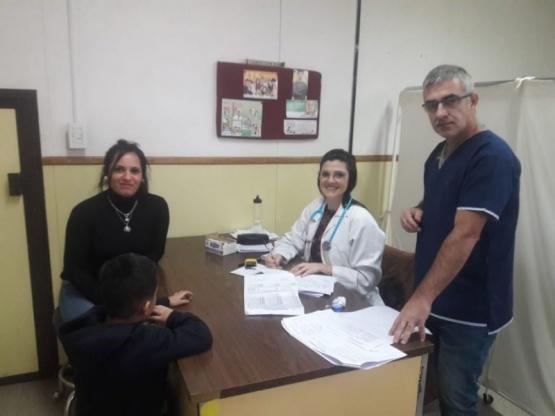Se realizó operativo de salud comunitaria en Rospentek