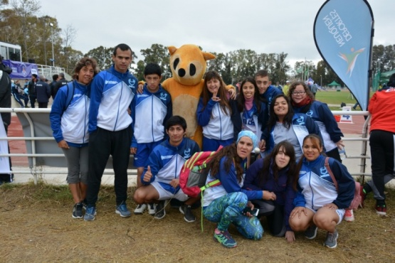 Destacada participación de Santa Cruz que sigue sumando medallas