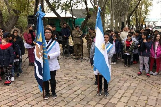 Conmemoraron el Día del Himno Nacional