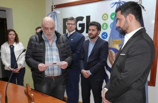 Leandro Fadul volvió a la Secretaría de Hacienda