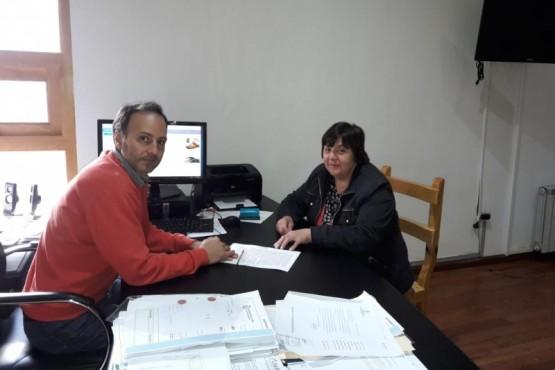 Bosques firmó convenio para prevención de incendios