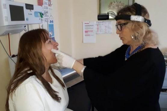 Red de Salud de Otorrinolaringología llegó a El Chaltén