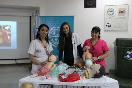 Concretan taller sobre atención inicial del paciente pediátrico