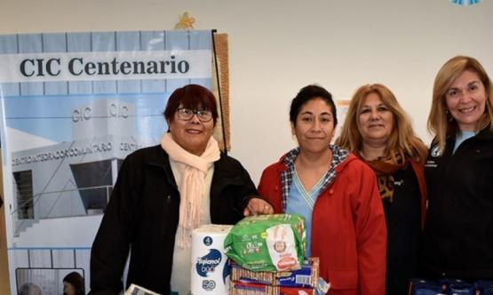 Diferentes insumos fueron donados al área de Desarrollo Social