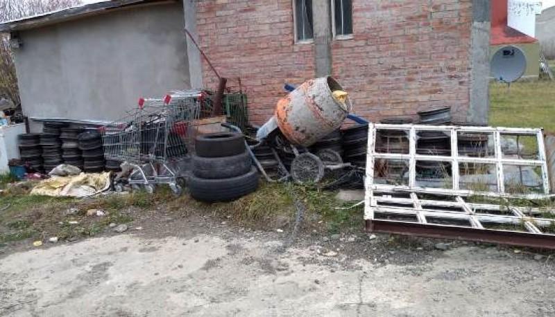 Elementos que fueron recuperados por la policía.