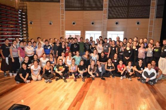 Es un proyecto que crece y apunta a profesionalizar la danza.