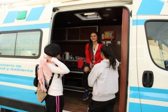 Jornadas de salud en Cañadón Seco