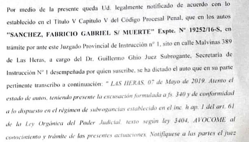 El 20 de mayo debe declarar Jéssica Dipiero.