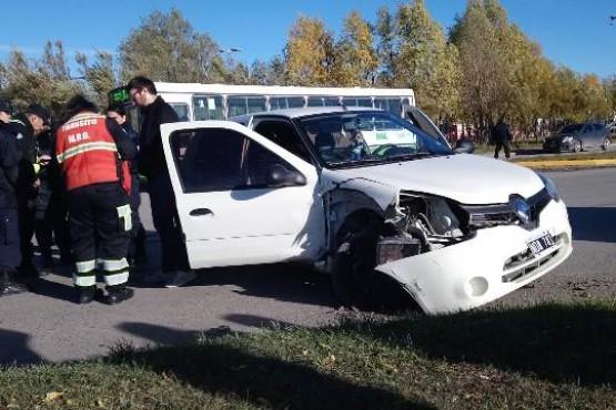 Fuerte colisión en Autovía y Filipo