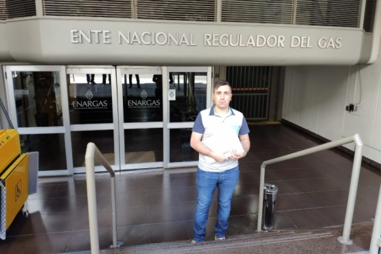 Barría presentó dictámenes judiciales ante Hacienda y ENARGAS