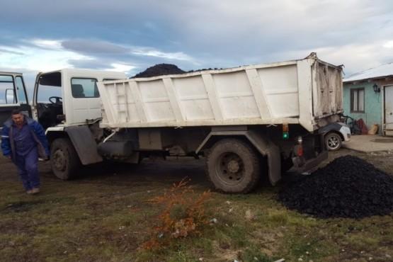 Se distribuyó carbón en la Cuenca