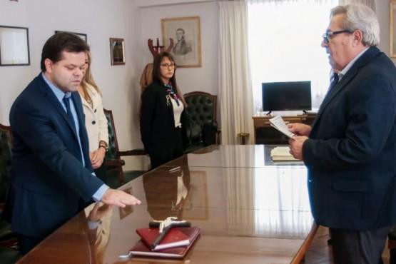Blassiotto juró como miembro del Tribunal de Enjuiciamiento