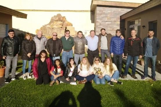 Encuentro del PRO en San Julián.