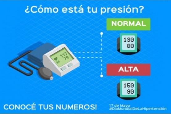 Concientización y prevención a las escuelas por el mes la hipertensión arterial
