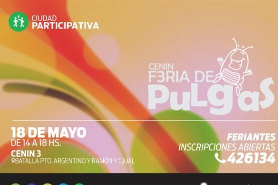 Se realiza la Feria de Pulgas en el Cenin N° 3
