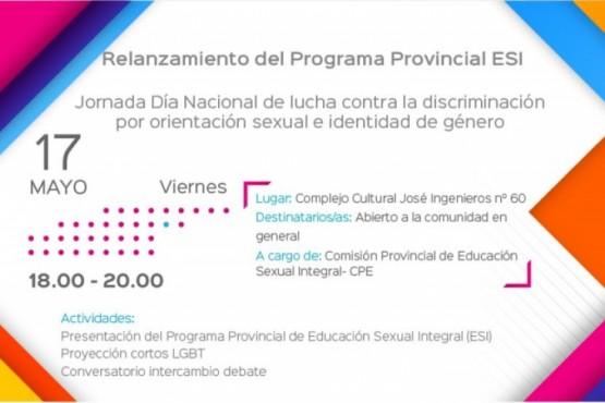 Presentan el Programa Provincial de Educación Sexual Integral