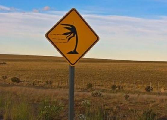 Alerta por fuertes vientos en la provincia