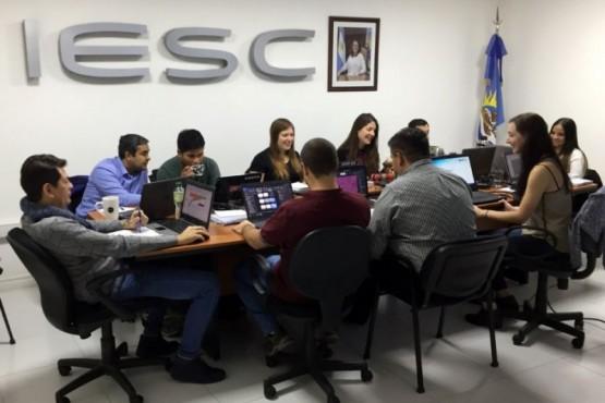 El IESC continúa con la formación y capacitación de sus agentes