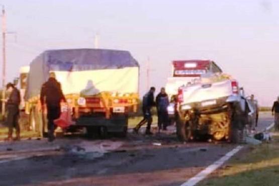 Dos santacruceños murieron tras chocar frontalmente con un camión