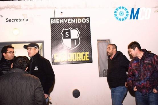 Prades firmó un convenio con el club San Jorge