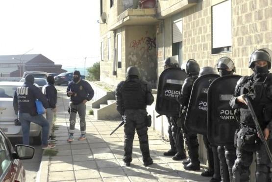 Más de 10 detenidos en un megaoperativo por distintos robos con arma