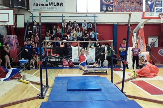 Cerca de 250 gimnastas en el Torneo Provincial