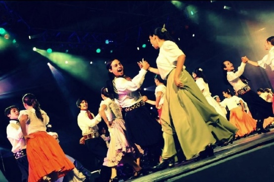 Comienza el Certamen Regional de Danzas Folclóricas