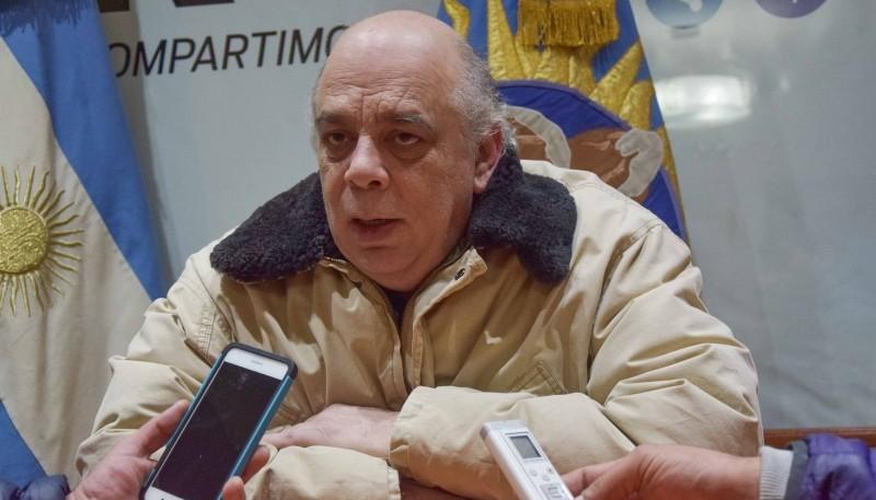 Intendente Roberto Giubetich.