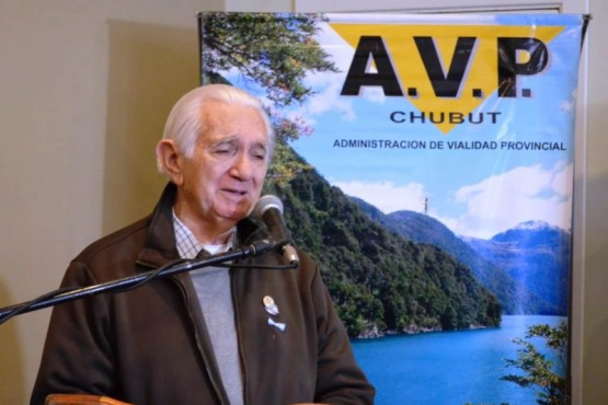 El presidente de la Asociación de Bomberos Voluntarios, Ricardo Chain.