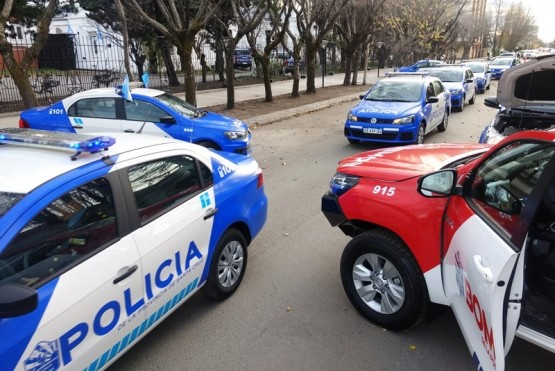 Se entregaron 66 móviles a la policía provincial