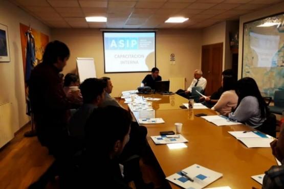 ASIP capacitó al personal de Fiscalización e Investigación