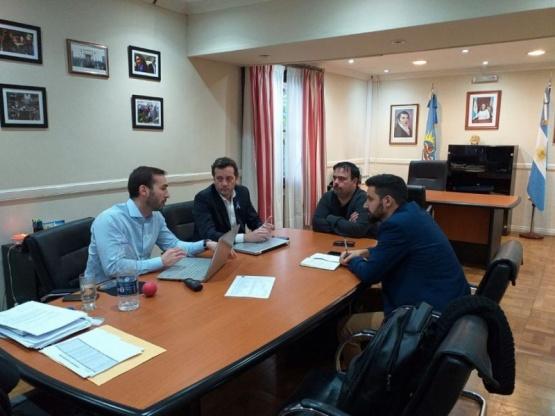 Provincia y Municipio se reunieron por el proyecto de Coparticipación