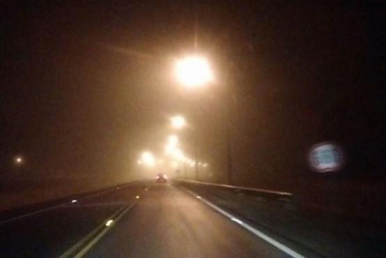 Por neblina Vialidad Nacional pide precaución