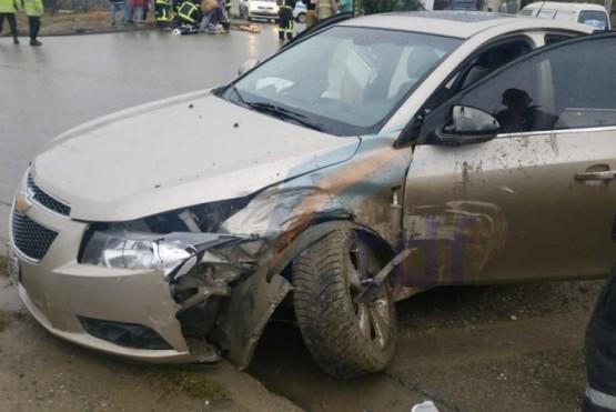Violento accidente dejó seis heridos