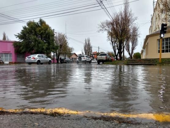 De vuelta las calles inundadas. (C.G)