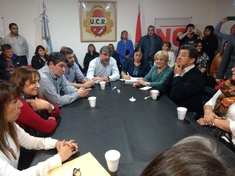 Reunión de la UCR Santa Cruz.