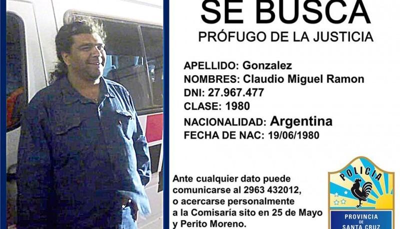 Claudio Miguel Ramón González se entregó en el Juzgado de Las Heras.