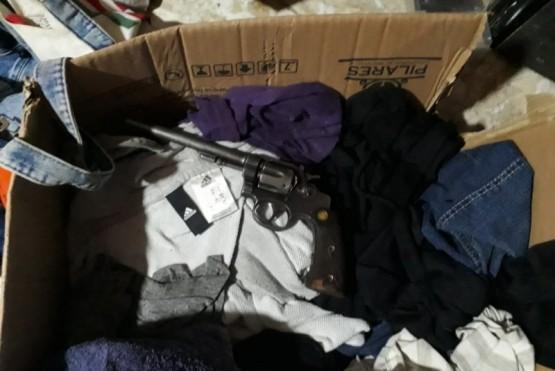 Allanamiento por denuncia de amenaza con arma de fuego